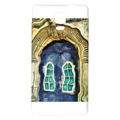 Luebeck Germany Arched Church Doorway Galaxy Note 4 Back Case