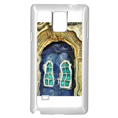 Luebeck Germany Arched Church Doorway Samsung Galaxy Note 4 Case (White)