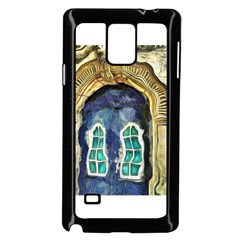 Luebeck Germany Arched Church Doorway Samsung Galaxy Note 4 Case (Black)