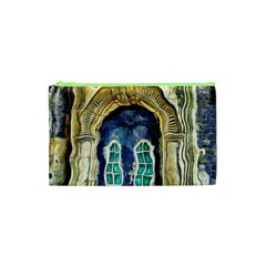 Luebeck Germany Arched Church Doorway Cosmetic Bag (XS)