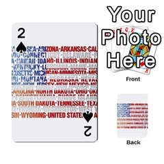 USA States Flag Playing Cards 54 Designs