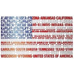 USA States Flag Magic Photo Cubes