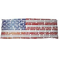 Usa States Flag Body Pillow Cases Dakimakura (two Sides)