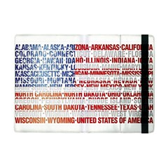 USA States Flag iPad Mini 2 Flip Cases