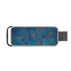 Urban Background Portable Usb Flash (one Side)