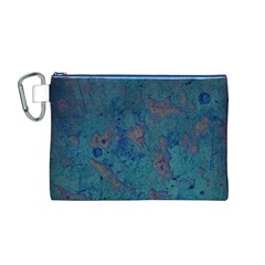 Urban Background Canvas Cosmetic Bag (m)