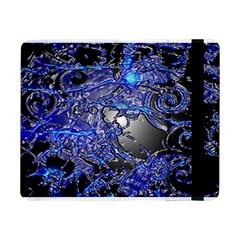 Blue Silver Swirls Samsung Galaxy Tab Pro 8.4  Flip Case