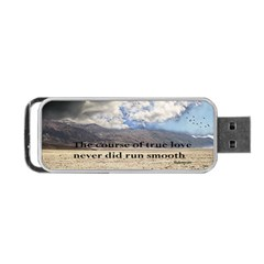 Shakespeare Portable USB Flash (One Side)