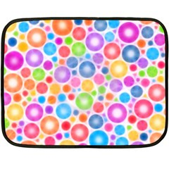 Candy Color s Circles Fleece Blanket (Mini)
