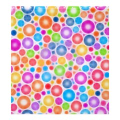 Candy Color s Circles Shower Curtain 66  X 72  (large)