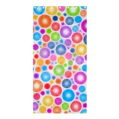 Candy Color s Circles Shower Curtain 36  X 72  (stall)