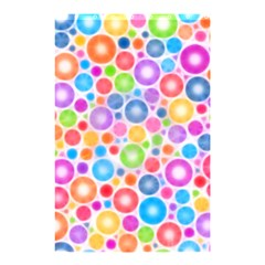 Candy Color s Circles Shower Curtain 48  x 72  (Small)