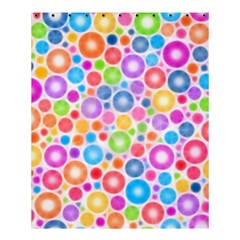 Candy Color s Circles Shower Curtain 60  X 72  (medium)