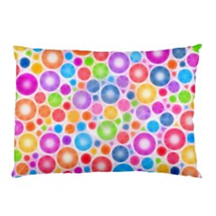 Candy Color s Circles Pillow Cases (two Sides)
