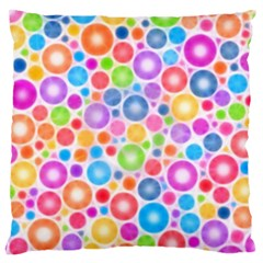Candy Color s Circles Large Cushion Cases (one Side)