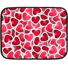 Candy Hearts Fleece Blanket (mini)