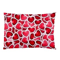 Candy Hearts Pillow Cases (Two Sides)