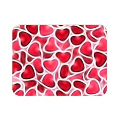 Candy Hearts Double Sided Flano Blanket (Mini)