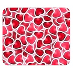 Candy Hearts Double Sided Flano Blanket (small)