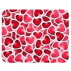 Candy Hearts Double Sided Flano Blanket (Medium)