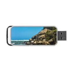 Tropical Beach Of Tayrona National Park Portable USB Flash (Two Sides)