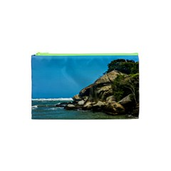 Tropical Beach Of Tayrona National Park Cosmetic Bag (XS)