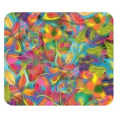 Colorful Autumn Double Sided Flano Blanket (small)