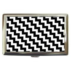 Black And White Zigzag Cigarette Money Cases