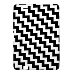 Black And White Zigzag Kindle Fire Hd 8 9