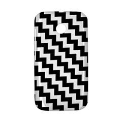 Black And White Zigzag Motorola Moto E