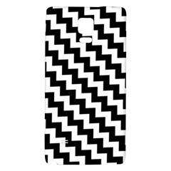 Black And White Zigzag Galaxy Note 4 Back Case