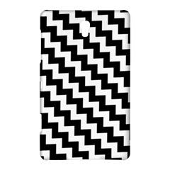 Black And White Zigzag Samsung Galaxy Tab S (8.4 ) Hardshell Case