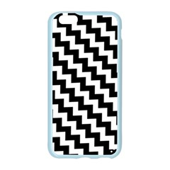 Black And White Zigzag Apple Seamless iPhone 6 Case (Color)