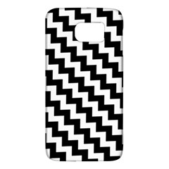 Black And White Zigzag Galaxy S6