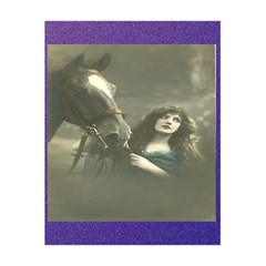 Vintage Woman With Horse 5.5  x 8.5  Notebooks