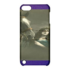 Vintage Woman With Horse Apple Ipod Touch 5 Hardshell Case With Stand