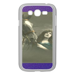 Vintage Woman With Horse Samsung Galaxy Grand Duos I9082 Case (white)