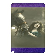 Vintage Woman With Horse Samsung Galaxy Tab Pro 10 1 Hardshell Case