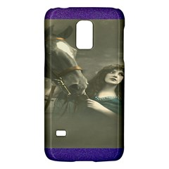 Vintage Woman With Horse Galaxy S5 Mini