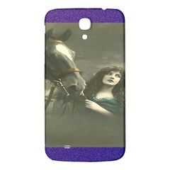 Vintage Woman With Horse Samsung Galaxy Mega I9200 Hardshell Back Case