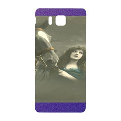 Vintage Woman With Horse Samsung Galaxy Alpha Hardshell Back Case
