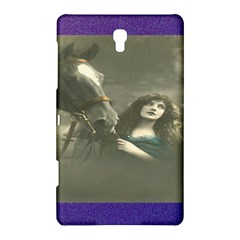 Vintage Woman With Horse Samsung Galaxy Tab S (8 4 ) Hardshell Case