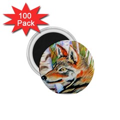Wolfpastel 1 75  Magnets (100 Pack)