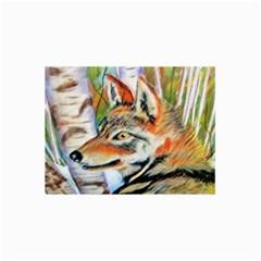 Wolfpastel Collage 12  x 18