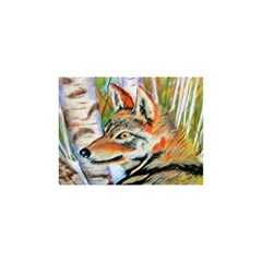 Wolfpastel Shower Curtain 48  X 72  (small)