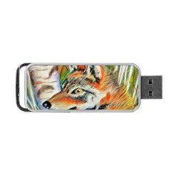 Wolfpastel Portable Usb Flash (two Sides)