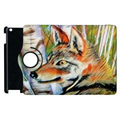 Wolfpastel Apple Ipad 2 Flip 360 Case