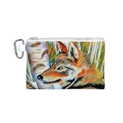 Wolfpastel Canvas Cosmetic Bag (S)