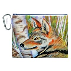 Wolfpastel Canvas Cosmetic Bag (XXL)