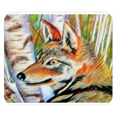 Wolfpastel Double Sided Flano Blanket (small)